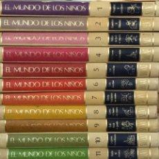 Enciclopedias antiguas: COLECCIÓN COMPLETA - ENCICLOPEDIA EL MUNDO DE LOS NIÑOS - 15 TOMOS - ED. SALVAT - 1973. Lote 191476826