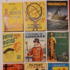 Enciclopedias antiguas: LOTE ENCICLOPEDIA PULGA. 25 EJEMPLARES.. Lote 192008592