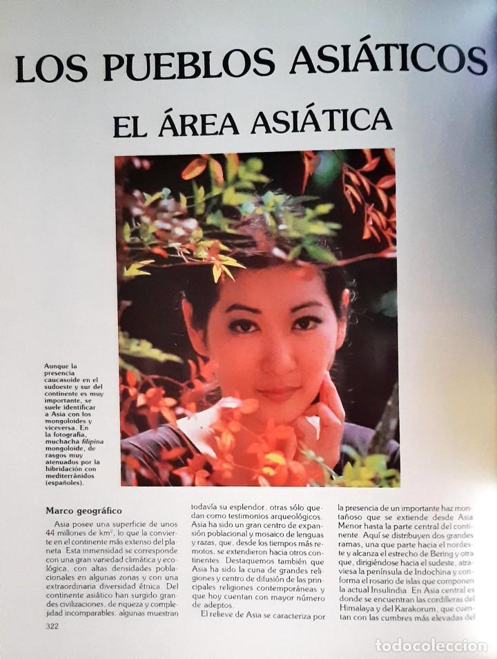 Enciclopedias antiguas: LAS RAZAS HUMANAS 8 Vol. - Foto 5 - 193570220