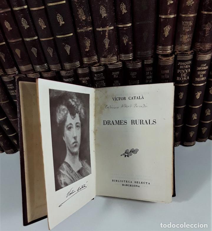 Enciclopedias antiguas: BIBLIOTECA SELECTA. 91 EJEMPLARES. BARCELONA. SIGLO XX. - Foto 6 - 170056644