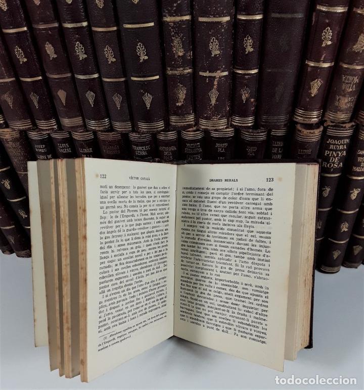 Enciclopedias antiguas: BIBLIOTECA SELECTA. 91 EJEMPLARES. BARCELONA. SIGLO XX. - Foto 7 - 170056644