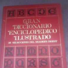 Enciclopedias antiguas: 9 TOMOS - READER DIGEST DICCIONARIO ENCICLOPEDIA ILUSTRADA. Lote 194511797