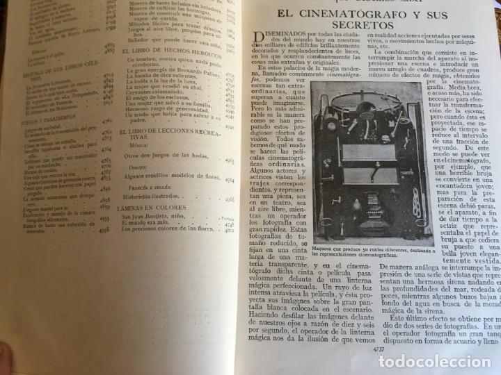 Enciclopedias antiguas: enciclopedia tesoro de la juventud,17 tomos,por walter jackson, editor. borde de hoja dorada - Foto 9 - 194589452
