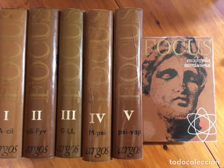 FOCUS ENCICLOPEDIA UNIVERSAL AÑO 1965 LOTE 6 TOMOS (Libros Antiguos, Raros y Curiosos - Enciclopedias)