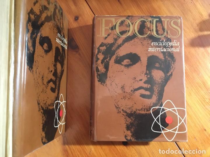 Enciclopedias antiguas: focus enciclopedia universal año 1965 lote 6 tomos - Foto 3 - 194689015