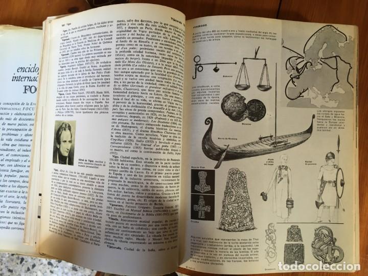 Enciclopedias antiguas: focus enciclopedia universal año 1965 lote 6 tomos - Foto 6 - 194689015