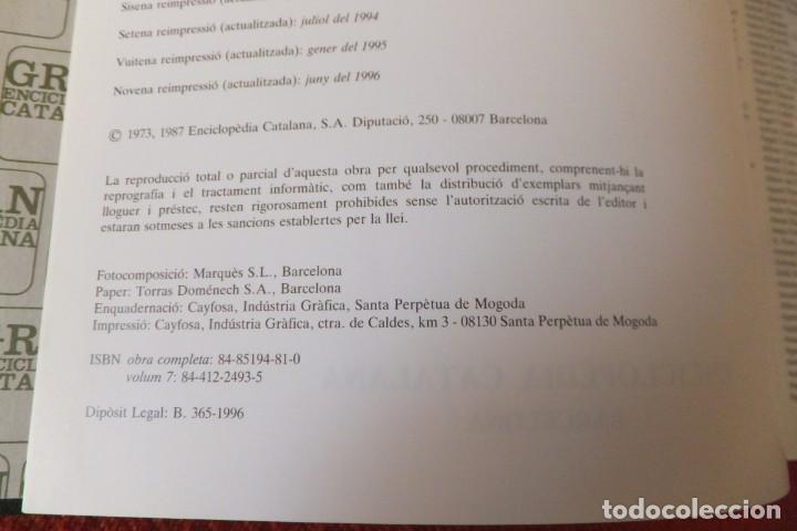 Enciclopedias antiguas: ENCICLOPEDIA CATALANA - VOLUMEN Nº 7 - Foto 3 - 195230568