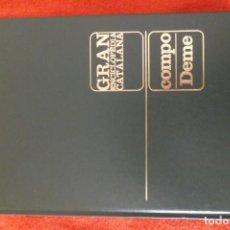 Enciclopedias antiguas: ENCICLOPEDIA CATALANA - VOLUMEN Nº 8. Lote 195230632