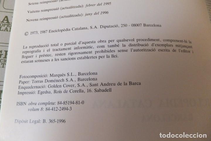 Enciclopedias antiguas: ENCICLOPEDIA CATALANA - VOLUMEN Nº 8 - Foto 3 - 195230632