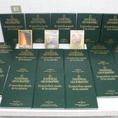 Enciclopedias antiguas: ENCICLOPEDIA NATIONAL GEOGRAPHIC EL MARAVILLOSO MUNDO DE LOS ANIMALES. Lote 195891886