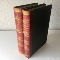 Enciclopedias antiguas: DICCIONARIO ENCICLOPÉDICO DE LA LENGUA ESPAÑOLA - 2 TOMOS - AÑO 1872 - GASPAR Y ROIG. Lote 195990935