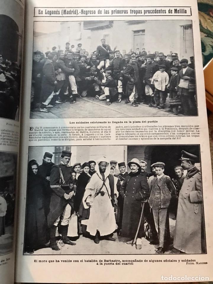 Enciclopedias antiguas: Revista la actualidad tomó correspondiente al año 1910 - Foto 3 - 196094087