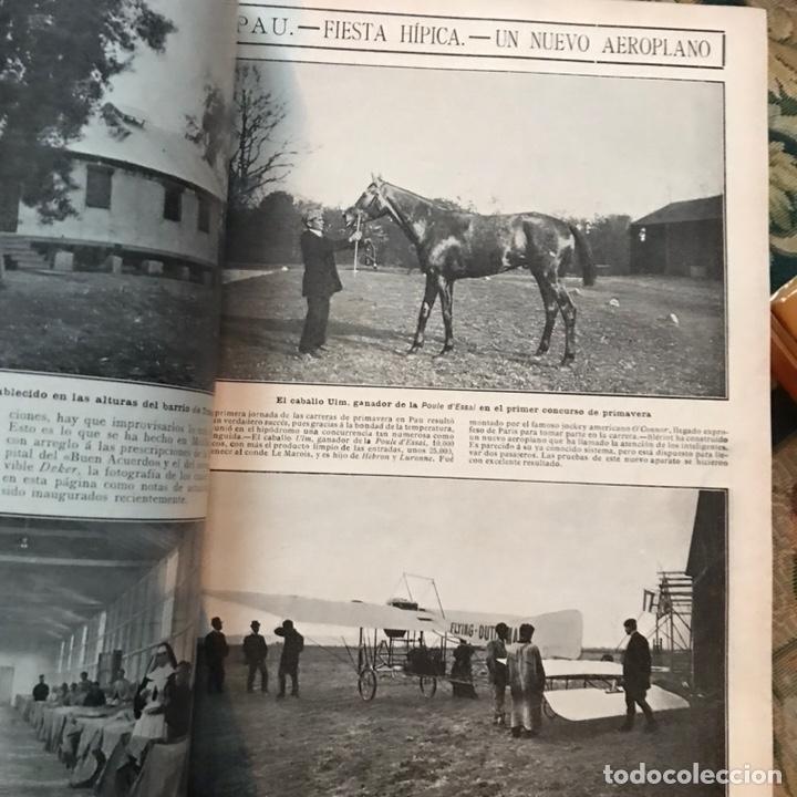 Enciclopedias antiguas: Revista la actualidad tomó correspondiente al año 1910 - Foto 5 - 196094087