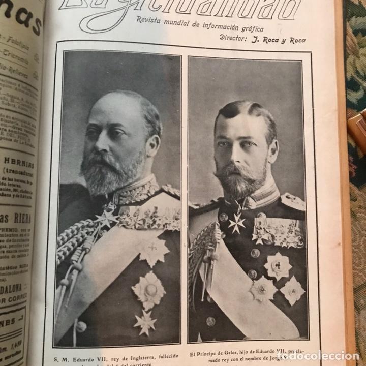 Enciclopedias antiguas: Revista la actualidad tomó correspondiente al año 1910 - Foto 6 - 196094087