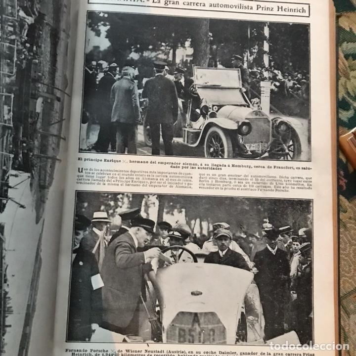 Enciclopedias antiguas: Revista la actualidad tomó correspondiente al año 1910 - Foto 7 - 196094087