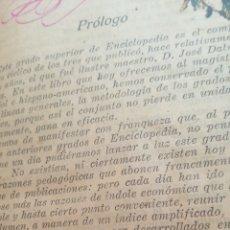 Enciclopedias antiguas: ANTIGUO LIBRO DE PRINCIPIOS DEL SIGLO XX VARIAS MATERIAS. Lote 196266105
