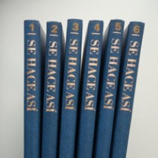 Enciclopedias antiguas: ENCICLOPEDÍA SE HACE ASI DE PLANETA AGOSTINI 6 VOLUMENES. Lote 197157770