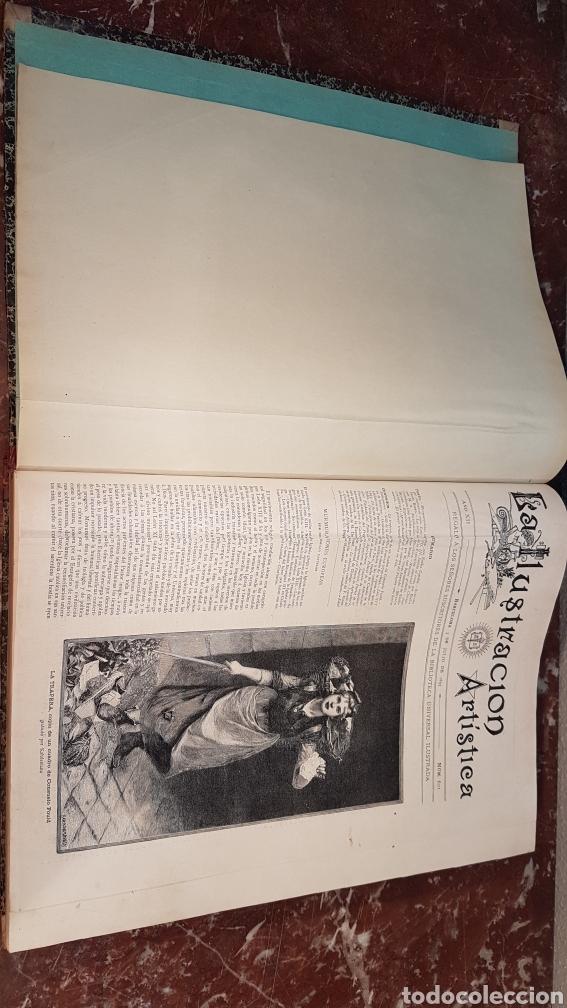Enciclopedias antiguas: LA ILUSTRACIÓN ARTISTICA. AÑO XII. BARCELONA, DESDE 3 Jul. - 25 Dic. 1893. TOMO 2 - Foto 3 - 197559512