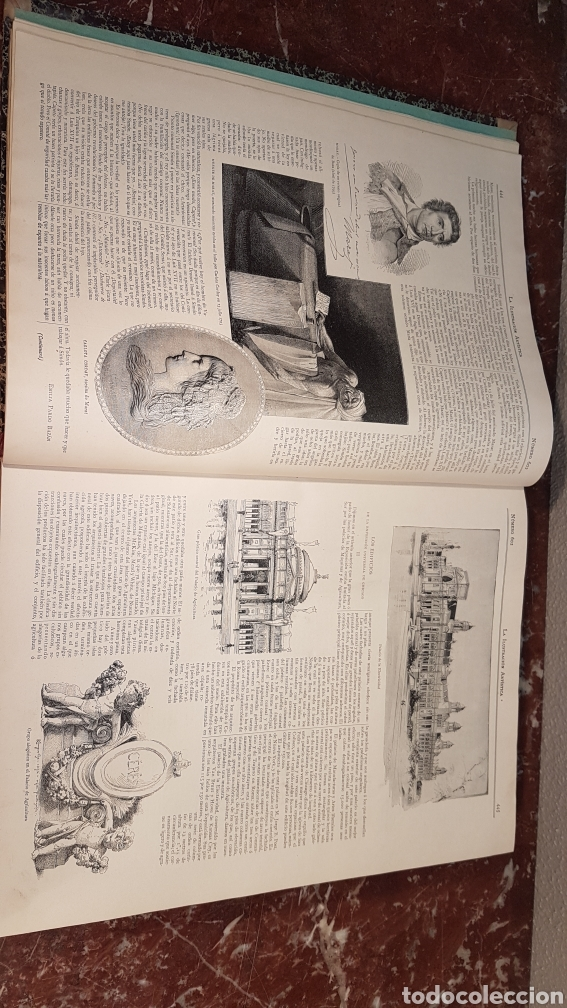 Enciclopedias antiguas: LA ILUSTRACIÓN ARTISTICA. AÑO XII. BARCELONA, DESDE 3 Jul. - 25 Dic. 1893. TOMO 2 - Foto 8 - 197559512