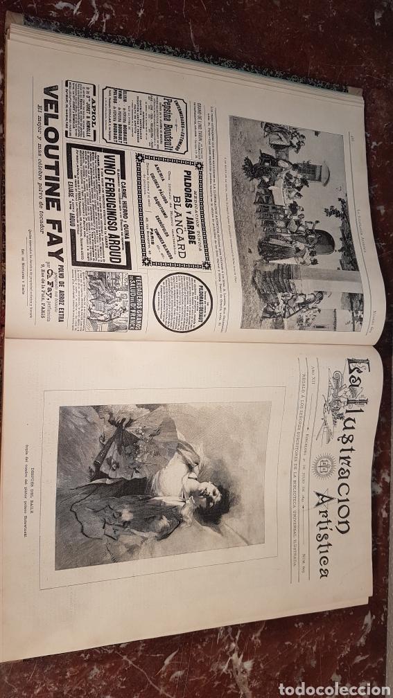 Enciclopedias antiguas: LA ILUSTRACIÓN ARTISTICA. AÑO XII. BARCELONA, DESDE 3 Jul. - 25 Dic. 1893. TOMO 2 - Foto 12 - 197559512