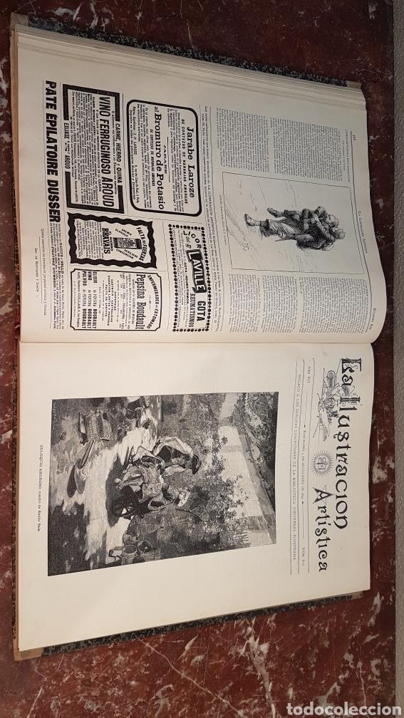 Enciclopedias antiguas: LA ILUSTRACIÓN ARTISTICA. AÑO XII. BARCELONA, DESDE 3 Jul. - 25 Dic. 1893. TOMO 2 - Foto 15 - 197559512