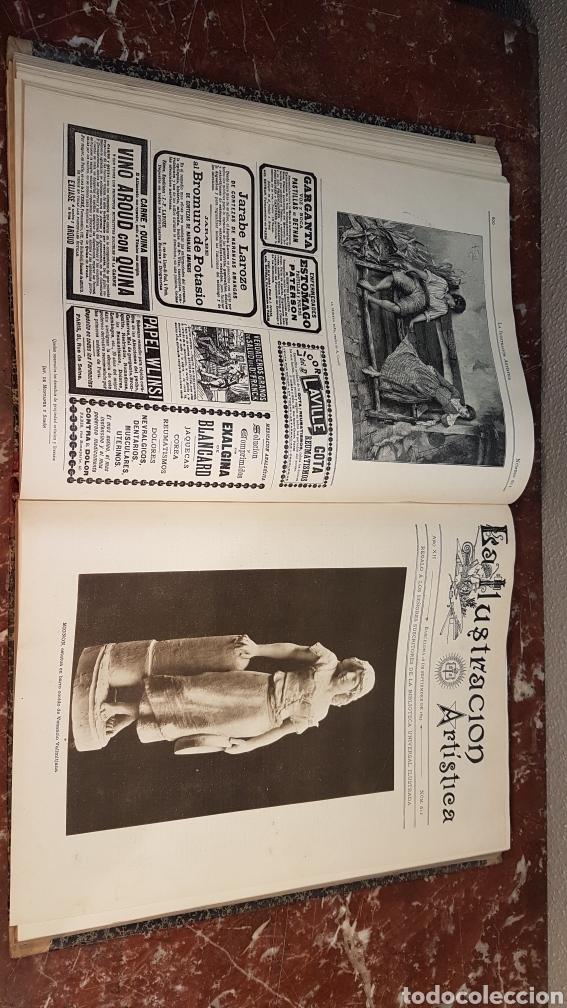 Enciclopedias antiguas: LA ILUSTRACIÓN ARTISTICA. AÑO XII. BARCELONA, DESDE 3 Jul. - 25 Dic. 1893. TOMO 2 - Foto 16 - 197559512