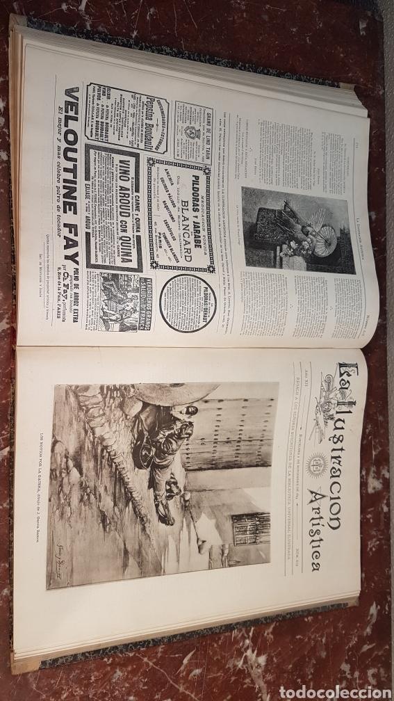 Enciclopedias antiguas: LA ILUSTRACIÓN ARTISTICA. AÑO XII. BARCELONA, DESDE 3 Jul. - 25 Dic. 1893. TOMO 2 - Foto 19 - 197559512