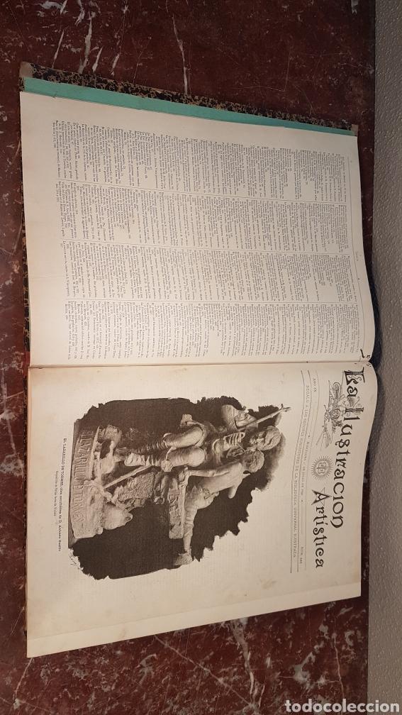 Enciclopedias antiguas: LA ILUSTRACIÓN ARTISTICA. AÑO IX. BARCELONA, DESDE 1 DE JULIO, NUM. 444, A 29 DE DIC. 1890.NUM.470. - Foto 4 - 197626198