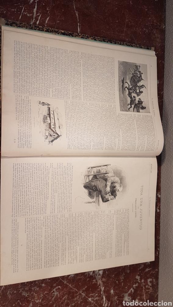 Enciclopedias antiguas: LA ILUSTRACIÓN ARTISTICA. AÑO IX. BARCELONA, DESDE 1 DE JULIO, NUM. 444, A 29 DE DIC. 1890.NUM.470. - Foto 8 - 197626198