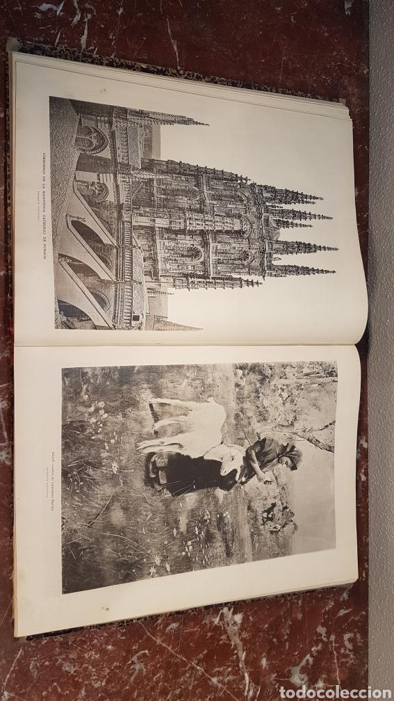Enciclopedias antiguas: LA ILUSTRACIÓN ARTISTICA. AÑO IX. BARCELONA, DESDE 1 DE JULIO, NUM. 444, A 29 DE DIC. 1890.NUM.470. - Foto 15 - 197626198