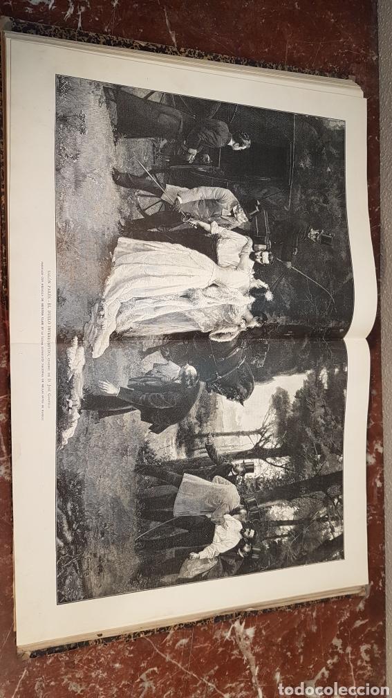 Enciclopedias antiguas: LA ILUSTRACIÓN ARTISTICA. AÑO IX. BARCELONA, DESDE 1 DE JULIO, NUM. 444, A 29 DE DIC. 1890.NUM.470. - Foto 20 - 197626198