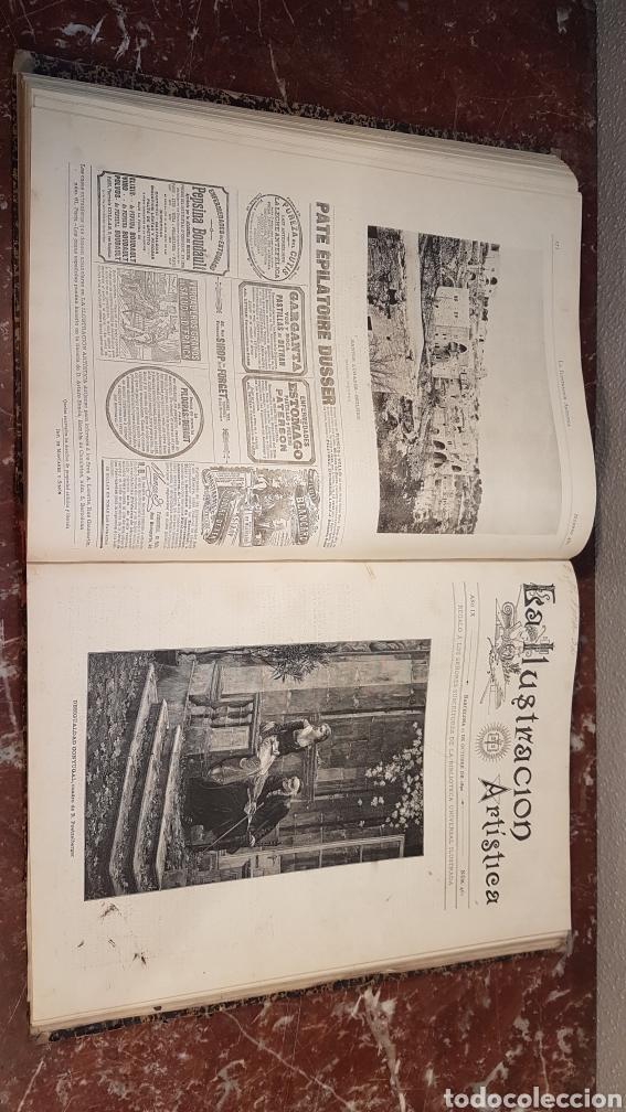 Enciclopedias antiguas: LA ILUSTRACIÓN ARTISTICA. AÑO IX. BARCELONA, DESDE 1 DE JULIO, NUM. 444, A 29 DE DIC. 1890.NUM.470. - Foto 23 - 197626198