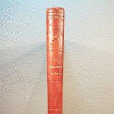 Enciclopedias antiguas: LA ILUSTRACIÓN ARTISTICA. AÑO IX. BARCELONA, DESDE 1 DE JULIO, NUM. 444, A 29 DE DIC. 1890.NUM.470.. Lote 197626198