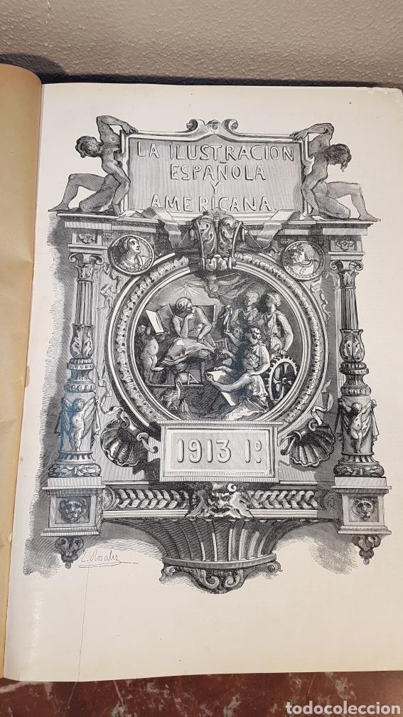 Enciclopedias antiguas: LA ILUSTRACIÓN ESPAÑOLA Y AMERICANA. AÑO LVII MADRID, DESDE 8 DE ENERO, NUM. I, A 30 DE JUNIO 1913 - Foto 4 - 197634571