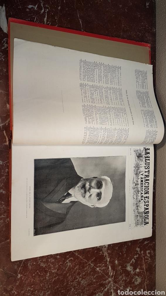 Enciclopedias antiguas: LA ILUSTRACIÓN ESPAÑOLA Y AMERICANA. AÑO LVII MADRID, DESDE 8 DE ENERO, NUM. I, A 30 DE JUNIO 1913 - Foto 5 - 197634571