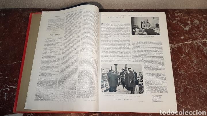 Enciclopedias antiguas: LA ILUSTRACIÓN ESPAÑOLA Y AMERICANA. AÑO LVII MADRID, DESDE 8 DE ENERO, NUM. I, A 30 DE JUNIO 1913 - Foto 7 - 197634571