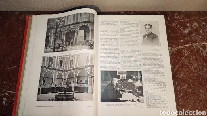 Enciclopedias antiguas: LA ILUSTRACIÓN ESPAÑOLA Y AMERICANA. AÑO LVII MADRID, DESDE 8 DE ENERO, NUM. I, A 30 DE JUNIO 1913 - Foto 11 - 197634571