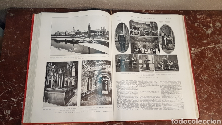 Enciclopedias antiguas: LA ILUSTRACIÓN ESPAÑOLA Y AMERICANA. AÑO LVII MADRID, DESDE 8 DE ENERO, NUM. I, A 30 DE JUNIO 1913 - Foto 31 - 197634571