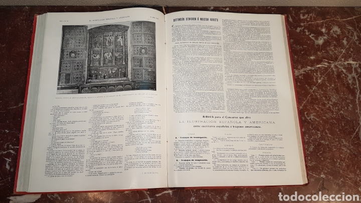 Enciclopedias antiguas: LA ILUSTRACIÓN ESPAÑOLA Y AMERICANA. AÑO LVII MADRID, DESDE 8 DE ENERO, NUM. I, A 30 DE JUNIO 1913 - Foto 33 - 197634571