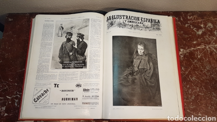 Enciclopedias antiguas: LA ILUSTRACIÓN ESPAÑOLA Y AMERICANA. AÑO LVII MADRID, DESDE 8 DE ENERO, NUM. I, A 30 DE JUNIO 1913 - Foto 39 - 197634571