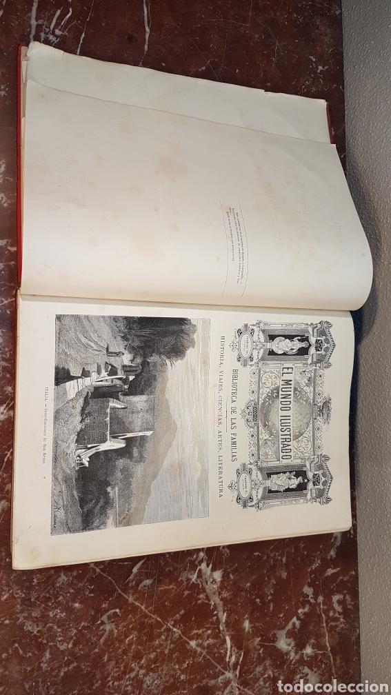 Enciclopedias antiguas: EL MUNDO ILUSTRADO. Biblioteca Ilustrada de Espasa y Cía. Barcelona - finales siglo XIX - Foto 5 - 197660240
