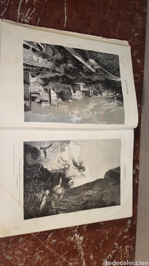 Enciclopedias antiguas: EL MUNDO ILUSTRADO. Biblioteca Ilustrada de Espasa y Cía. Barcelona - finales siglo XIX - Foto 7 - 197660240