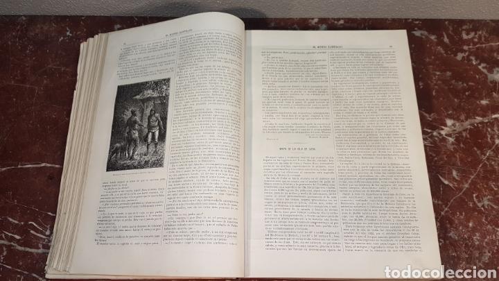 Enciclopedias antiguas: EL MUNDO ILUSTRADO. Biblioteca Ilustrada de Espasa y Cía. Barcelona - finales siglo XIX - Foto 11 - 197660240