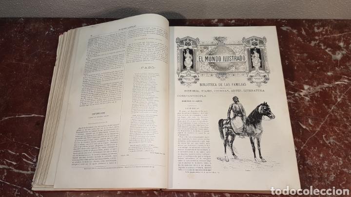 Enciclopedias antiguas: EL MUNDO ILUSTRADO. Biblioteca Ilustrada de Espasa y Cía. Barcelona - finales siglo XIX - Foto 12 - 197660240
