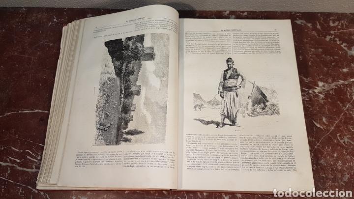 Enciclopedias antiguas: EL MUNDO ILUSTRADO. Biblioteca Ilustrada de Espasa y Cía. Barcelona - finales siglo XIX - Foto 13 - 197660240