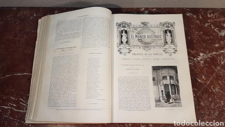 Enciclopedias antiguas: EL MUNDO ILUSTRADO. Biblioteca Ilustrada de Espasa y Cía. Barcelona - finales siglo XIX - Foto 16 - 197660240
