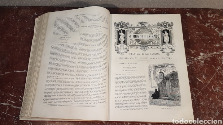 Enciclopedias antiguas: EL MUNDO ILUSTRADO. Biblioteca Ilustrada de Espasa y Cía. Barcelona - finales siglo XIX - Foto 18 - 197660240