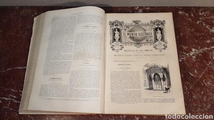 Enciclopedias antiguas: EL MUNDO ILUSTRADO. Biblioteca Ilustrada de Espasa y Cía. Barcelona - finales siglo XIX - Foto 19 - 197660240