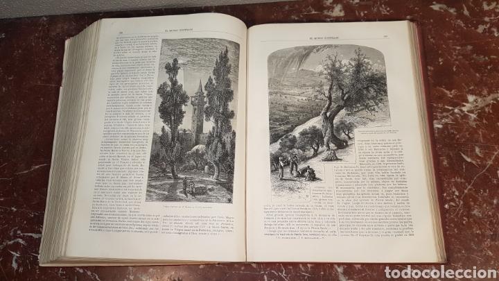 Enciclopedias antiguas: EL MUNDO ILUSTRADO. Biblioteca Ilustrada de Espasa y Cía. Barcelona - finales siglo XIX - Foto 30 - 197660240