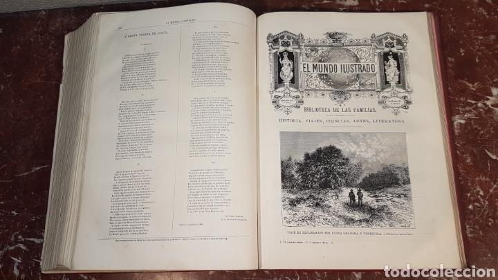 Enciclopedias antiguas: EL MUNDO ILUSTRADO. Biblioteca Ilustrada de Espasa y Cía. Barcelona - finales siglo XIX - Foto 35 - 197660240